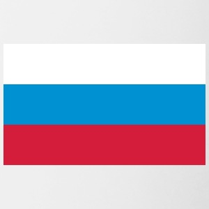 National Flag Of Russia - Tvåfärgad mugg