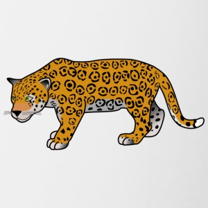 sweed Leopard - Mok tweekleurig