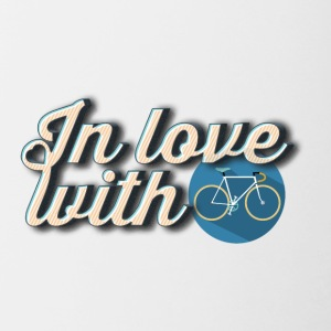 In love with cycling - Contrasting Mug