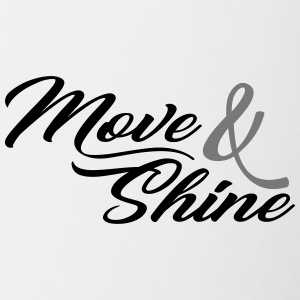 Move and Shine - Sportmotiv - Contrasting Mug