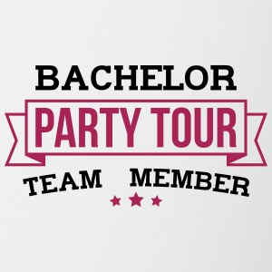Bachelor Party Tour - Tasse zweifarbig