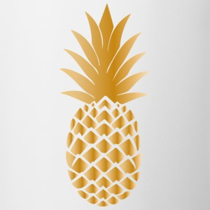 Golden ananas - Mok tweekleurig