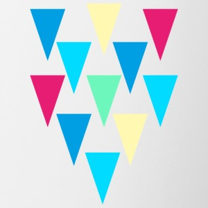 triangles_rain - Tazze bicolor