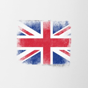 United Kingdom Flag Proud British Vintage Distress - Contrasting Mug