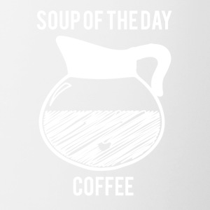 Kaffee: Soup of the Day - Coffee - Tasse zweifarbig