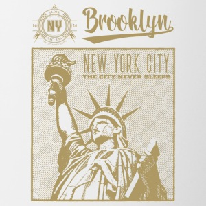 New York · Brooklyn - Tofarvet krus