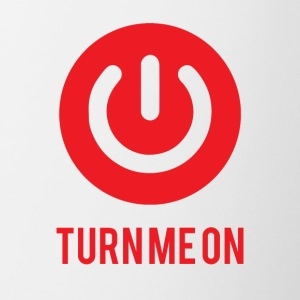 Nerd / Nerds: Turn me on - Mok tweekleurig