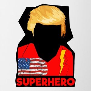 Super Donald / Orange Trump Tear-rivning - Tofarvet krus