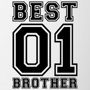 Best Brother - Tasse zweifarbig