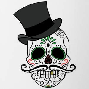 Day of the dead - Tofarvet krus