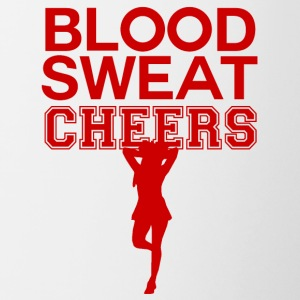 Cheerleader: Blood, Sweat, Cheers - Contrasting Mug
