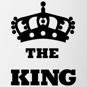 THE_KING - Tasse zweifarbig