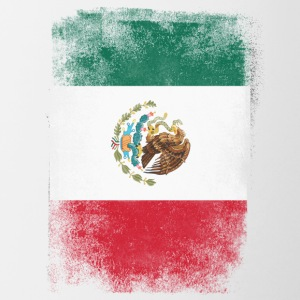 Mexico Flag Proud Mexican Vintage Distressed - Contrasting Mug