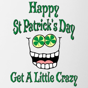 Funny Happy St Patrick's Day - Contrasting Mug
