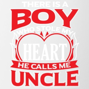 UNCLE - THERE IS A BOY WHO STOLE MY HEART - Contrasting Mug