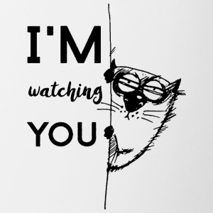 Watching you - Contrasting Mug