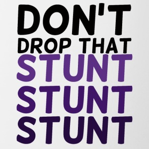 Cheerleader: Don't Drop That Stunt Stunt Stunt - Contrasting Mug