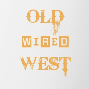 old wired west - Tazze bicolor