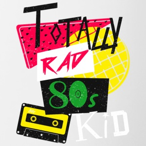 Totalmente Rad 80s Kid - Tazze bicolor