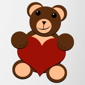 Big Bear Heart - For All - Tofarget kopp