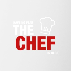 Have No Fear The Chef Is Here - Tvåfärgad mugg