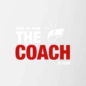 Avoir No Fear The Coach Is Here - Tasse bicolore