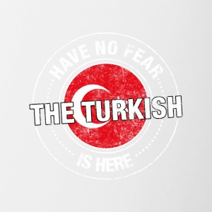 Have No Fear The Turkish Is Here - Contrasting Mug
