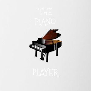 Piano player - Kubek dwukolorowy