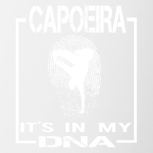 CAPOEIRA it's in my DNA - Tasse zweifarbig