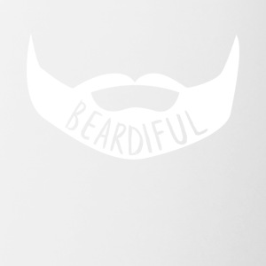 Beardiful v4 - Mok tweekleurig