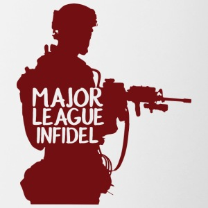 Military / Soldiers: Major League Infidel - Contrasting Mug