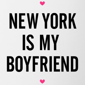 New York Boyfriend - Tasse bicolore