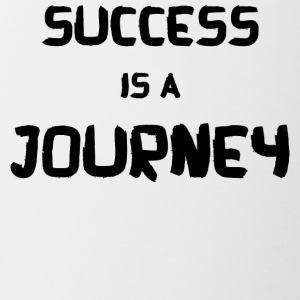SUCCESS IS A JOURNEY! - Contrasting Mug