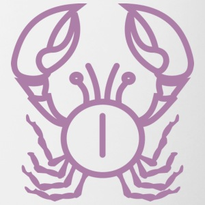 lobster purple - Contrasting Mug
