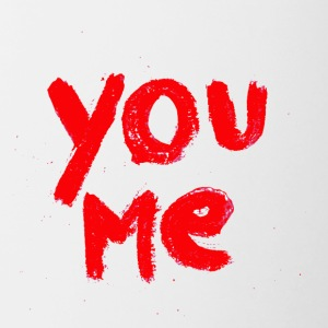 You & Me - Mok tweekleurig