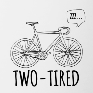 Cycling: Two-Tired - Contrasting Mug