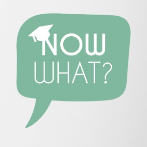 High School / Graduation: Now what? - Contrasting Mug