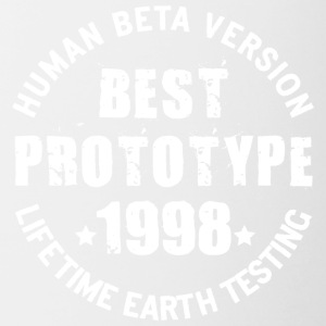 1998 - The birth year of legendary prototypes - Contrasting Mug