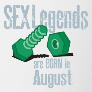 Birthday august penis sex legends born Gesch - Contrasting Mug