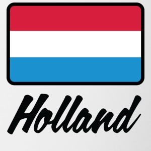 National Flag Of Holland - Tvåfärgad mugg