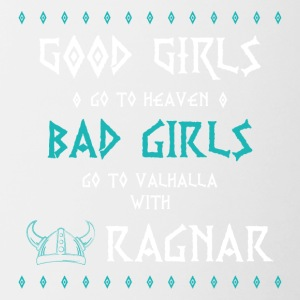 bad girls - Tasse zweifarbig