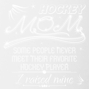 Hockey Mom - Tasse zweifarbig