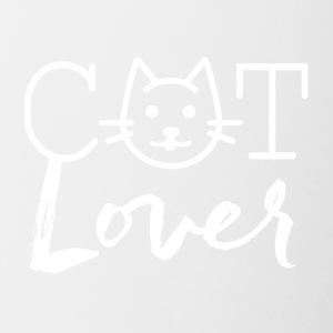 cat lovers - Contrasting Mug