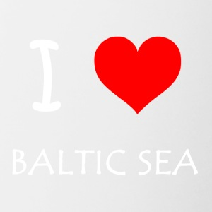 I Love Baltic Sea - Contrasting Mug