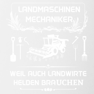 Landwmaschinenmechaniker - Because even farmers Hel - Contrasting Mug