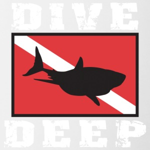 SCUBA DIVE DEEP SHARK - Mok tweekleurig