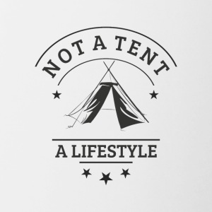 not_a_tent - Mok tweekleurig