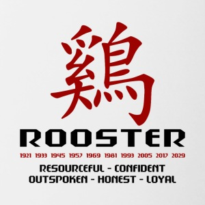 Year of The Rooster - Contrasting Mug