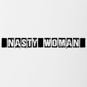 nasty Woman - Tofarvet krus
