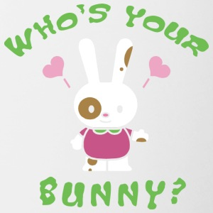 Easter Who's Your Bunny - Contrasting Mug